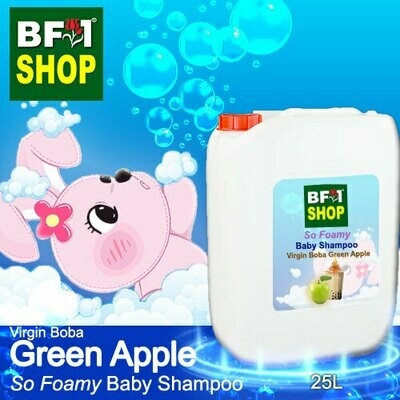 So Foamy Baby Shampoo (SFBS) - Virgin Boba Apple - Green Apple - 25L