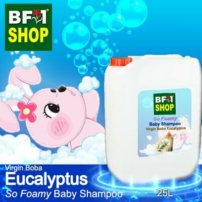 So Foamy Baby Shampoo (SFBS) - Virgin Boba Eucalyptus - 25L
