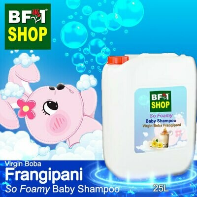 So Foamy Baby Shampoo (SFBS) - Virgin Boba Frangipani - 25L
