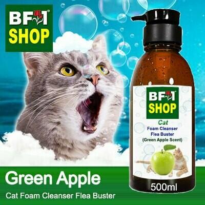 Cat Foam Cleanser Flea Buster (CFC-Cat) - Apple - Green Apple - 500ml ⭐⭐⭐⭐⭐