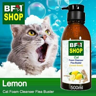 Cat Foam Cleanser Flea Buster (CFC-Cat) - Lemon - 500ml ⭐⭐⭐⭐⭐