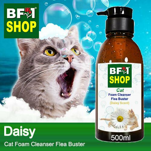 Cat Foam Cleanser Flea Buster (CFC-Cat) - Daisy - 500ml ⭐⭐⭐⭐⭐