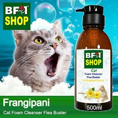 Cat Foam Cleanser Flea Buster (CFC-Cat) - Frangipani - 500ml ⭐⭐⭐⭐⭐