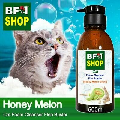 Cat Foam Cleanser Flea Buster (CFC-Cat) - Honey Melon - 500ml ⭐⭐⭐⭐⭐