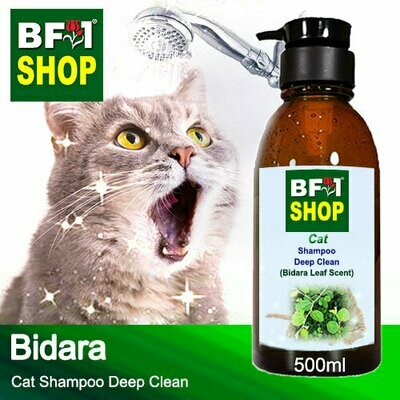 Cat Shampoo Deep Clean (CSDC-Cat) - Bidara - 500ml ⭐⭐⭐⭐⭐