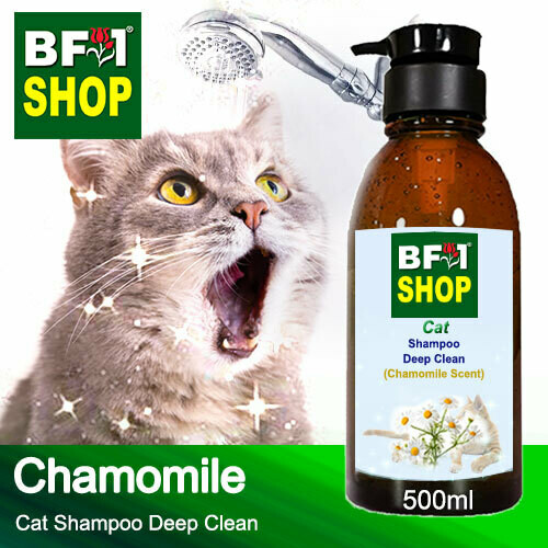 Cat Shampoo Deep Clean (CSDC-Cat) - Chamomile - 500ml ⭐⭐⭐⭐⭐