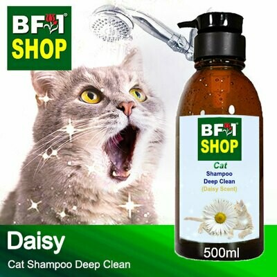 Cat Shampoo Deep Clean (CSDC-Cat) - Daisy - 500ml ⭐⭐⭐⭐⭐