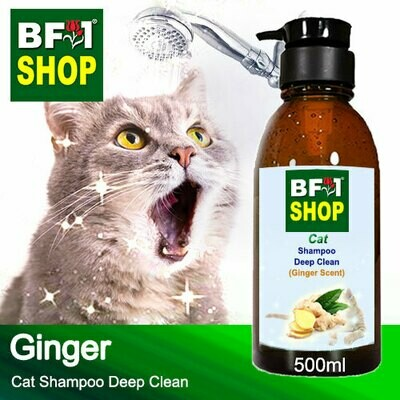 Cat Shampoo Deep Clean (CSDC-Cat) - Ginger - 500ml ⭐⭐⭐⭐⭐