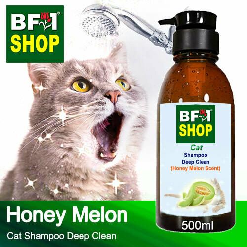 Cat Shampoo Deep Clean (CSDC-Cat) - Honey Melon - 500ml ⭐⭐⭐⭐⭐