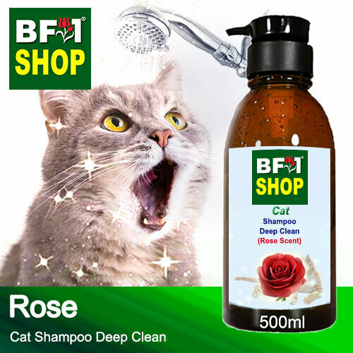 Cat Shampoo Deep Clean (CSDC-Cat) - Rose - 500ml ⭐⭐⭐⭐⭐