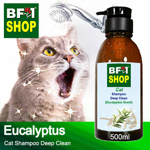 Cat Shampoo Deep Clean (CSDC-Cat) - Eucalyptus - 500ml ⭐⭐⭐⭐⭐