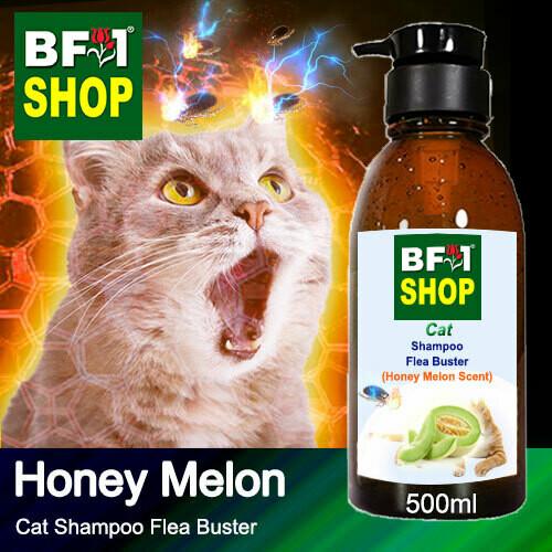 Cat Shampoo Flea Buster (CSO-Cat) - Honey Melon - 500ml ⭐⭐⭐⭐⭐