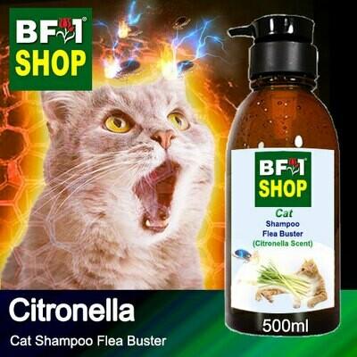 Cat Shampoo Flea Buster (CSO-Cat) - Citronella - 500ml ⭐⭐⭐⭐⭐