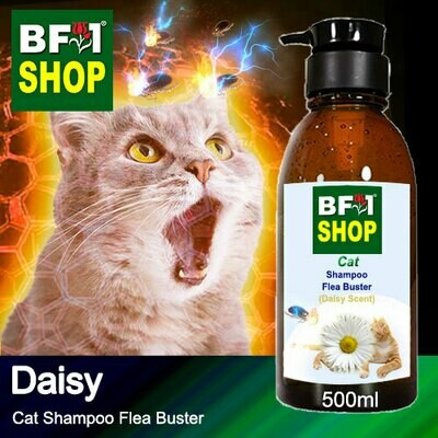 Cat Shampoo Flea Buster (CSO-Cat) - Daisy - 500ml ⭐⭐⭐⭐⭐