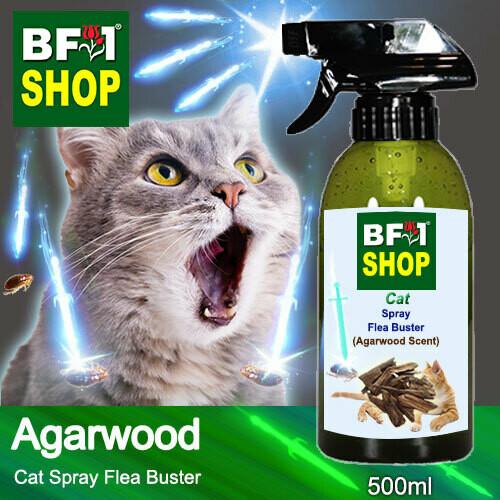 Cat Spray Flea Buster (CSY-Cat) - Agarwood - 500ml ⭐⭐⭐⭐⭐