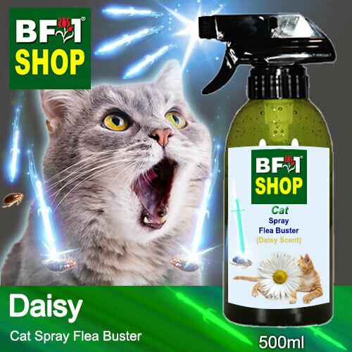 Cat Spray Flea Buster (CSY-Cat) - Daisy - 500ml ⭐⭐⭐⭐⭐