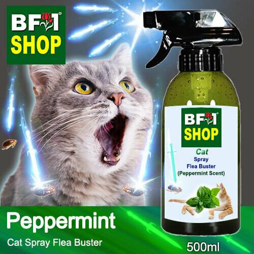 Cat Spray Flea Buster (CSY-Cat) - mint - Peppermint - 500ml ⭐⭐⭐⭐⭐