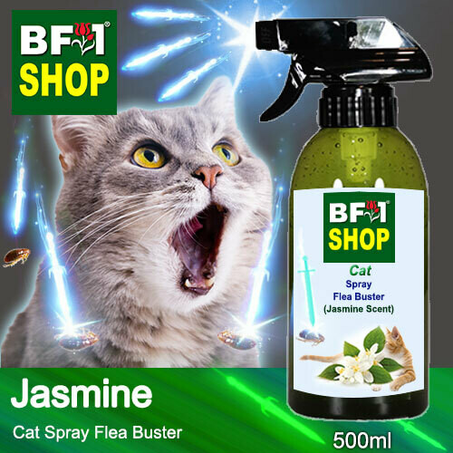 Cat Spray Flea Buster (CSY-Cat) - Jasmine - 500ml ⭐⭐⭐⭐⭐