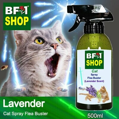 Cat Spray Flea Buster (CSY-Cat) - Lavender - 500ml ⭐⭐⭐⭐⭐