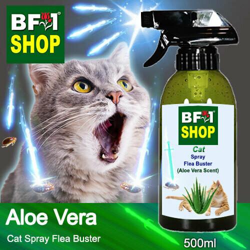 Cat Spray Flea Buster (CSY-Cat) - Aloe Vera - 500ml ⭐⭐⭐⭐⭐