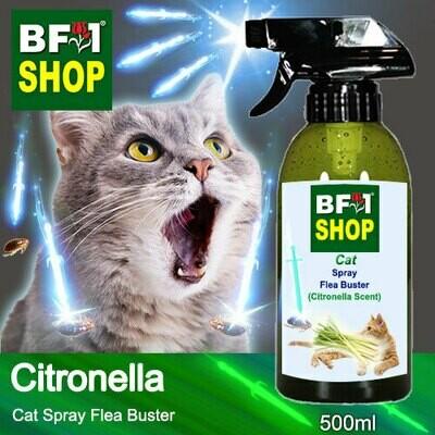 Cat Spray Flea Buster (CSY-Cat) - Citronella - 500ml ⭐⭐⭐⭐⭐