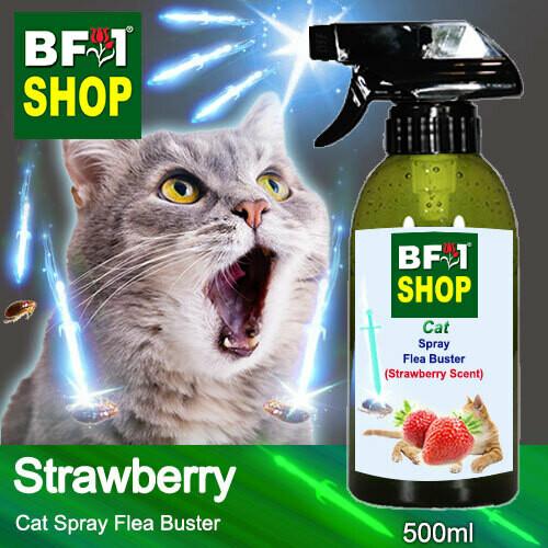 Cat Spray Flea Buster (CSY-Cat) - Strawberry - 500ml ⭐⭐⭐⭐⭐