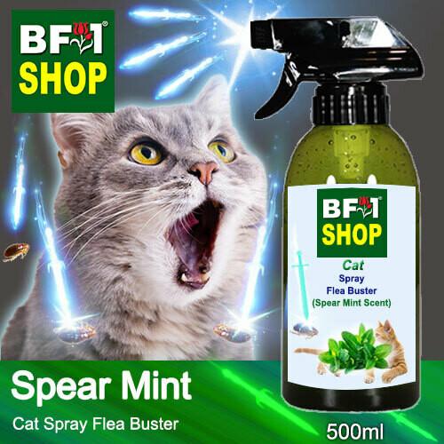 Cat Spray Flea Buster (CSY-Cat) - mint - Spear Mint - 500ml ⭐⭐⭐⭐⭐