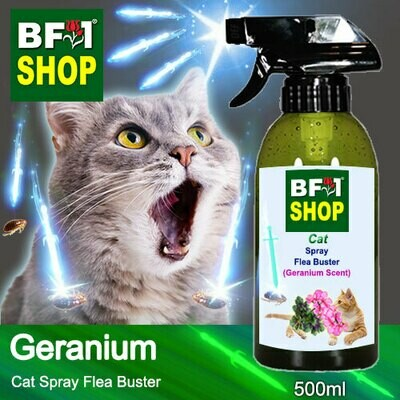Cat Spray Flea Buster (CSY-Cat) - Geranium - 500ml ⭐⭐⭐⭐⭐