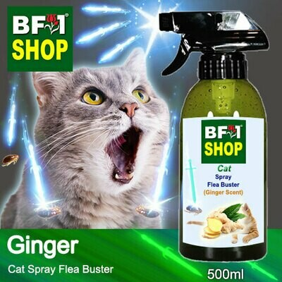 Cat Spray Flea Buster (CSY-Cat) - Ginger - 500ml ⭐⭐⭐⭐⭐