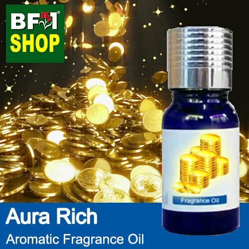 Aromatic Fragrance Oil (AFO) - Aura Rich - 10ml ⭐⭐⭐⭐⭐