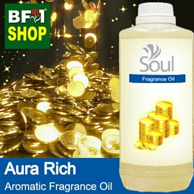 Aromatic Fragrance Oil (AFO) - Aura Rich - 1L ⭐⭐⭐⭐⭐