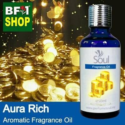 Aromatic Fragrance Oil (AFO) - Aura Rich - 50ml ⭐⭐⭐⭐⭐
