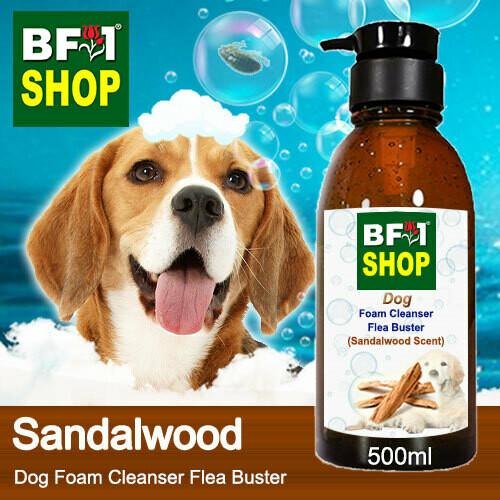 Dog Foam Cleanser Flea Buster (DFC-Dog) - Sandalwood - 500ml ⭐⭐⭐⭐⭐