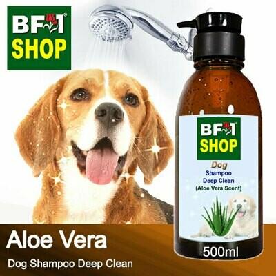 Dog Shampoo Deep Clean (DSDC-Dog) - Aloe Vera - 500ml ⭐⭐⭐⭐⭐