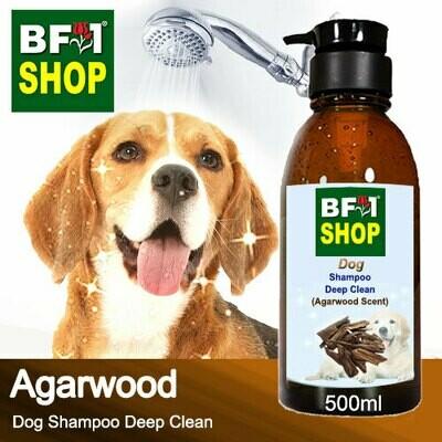 Dog Shampoo Deep Clean (DSDC-Dog) - Agarwood - 500ml ⭐⭐⭐⭐⭐