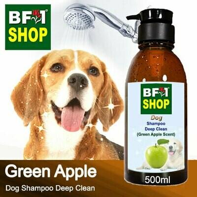 Dog Shampoo Deep Clean (DSDC-Dog) - Apple - Green Apple - 500ml ⭐⭐⭐⭐⭐