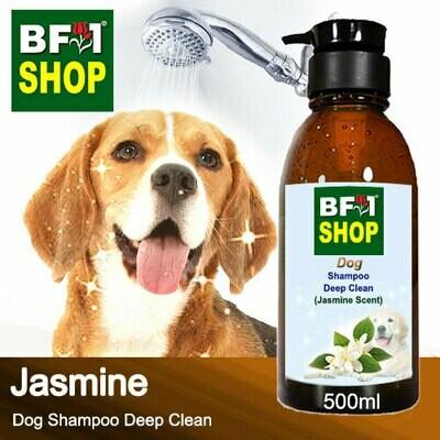 Dog Shampoo Deep Clean (DSDC-Dog) - Jasmine - 500ml ⭐⭐⭐⭐⭐