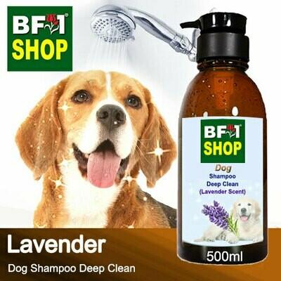 Dog Shampoo Deep Clean (DSDC-Dog) - Lavender - 500ml ⭐⭐⭐⭐⭐