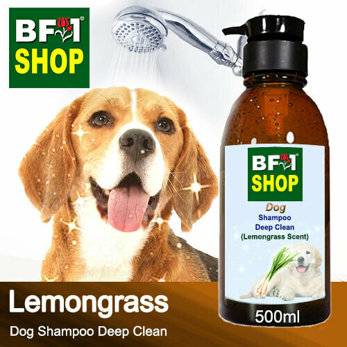Dog Shampoo Deep Clean (DSDC-Dog) - Lemongrass - 500ml ⭐⭐⭐⭐⭐