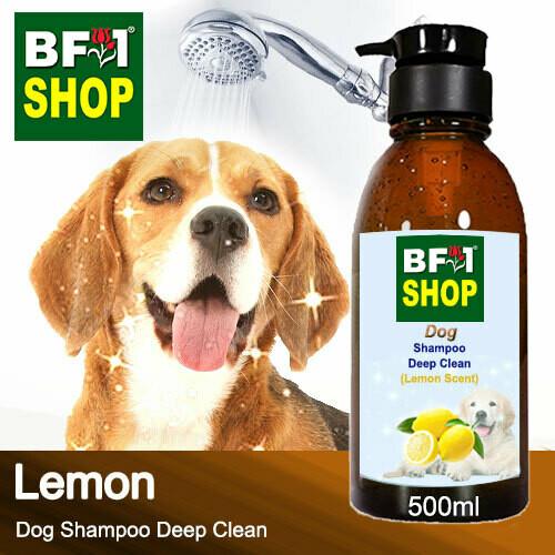 Dog Shampoo Deep Clean (DSDC-Dog) - Lemon - 500ml ⭐⭐⭐⭐⭐