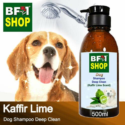 Dog Shampoo Deep Clean (DSDC-Dog) - lime - Kaffir Lime - 500ml ⭐⭐⭐⭐⭐