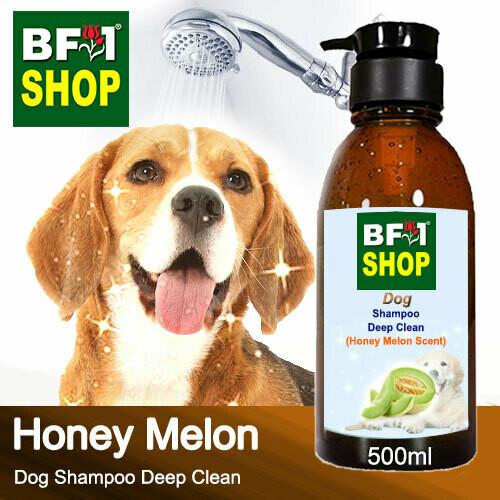 Dog Shampoo Deep Clean (DSDC-Dog) - Honey Melon - 500ml ⭐⭐⭐⭐⭐