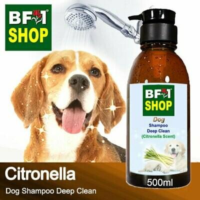 Dog Shampoo Deep Clean (DSDC-Dog) - Citronella - 500ml ⭐⭐⭐⭐⭐