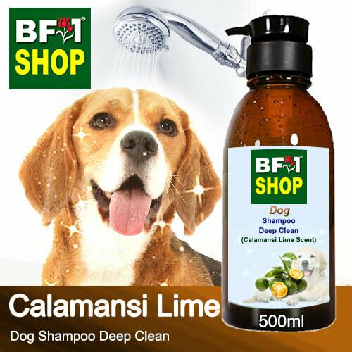 Dog Shampoo Deep Clean (DSDC-Dog) - lime - Calamansi Lime - 500ml ⭐⭐⭐⭐⭐