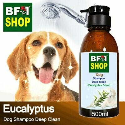 Dog Shampoo Deep Clean (DSDC-Dog) - Eucalyptus - 500ml ⭐⭐⭐⭐⭐