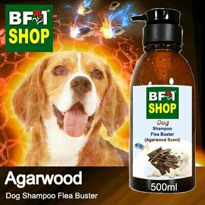 Dog Shampoo Flea Buster (DSO-Dog) - Agarwood - 500ml ⭐⭐⭐⭐⭐