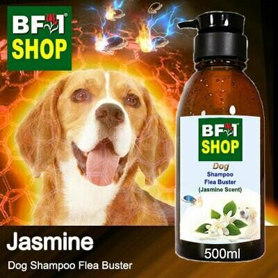 Dog Shampoo Flea Buster (DSO-Dog) - Jasmine - 500ml ⭐⭐⭐⭐⭐