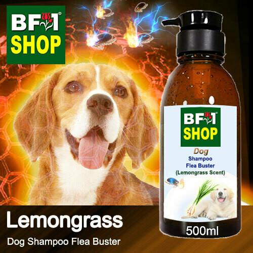 Dog Shampoo Flea Buster (DSO-Dog) - Lemongrass - 500ml ⭐⭐⭐⭐⭐