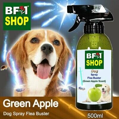 Dog Spray Flea Buster (DSY-Dog) - Apple - Green Apple - 500ml ⭐⭐⭐⭐⭐