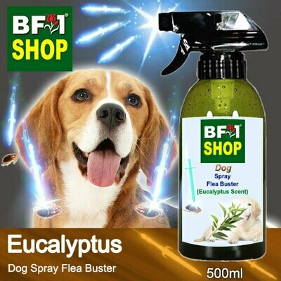 Dog Spray Flea Buster (DSY-Dog) - Eucalyptus - 500ml ⭐⭐⭐⭐⭐